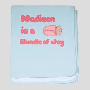 Madison is a Bundle of Joy baby blanket