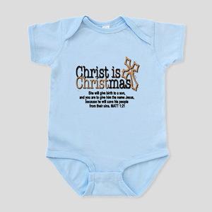 Christ back in Christmas Infant Bodysuit