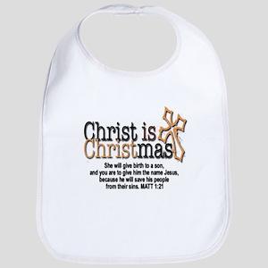 Christ back in Christmas Bib