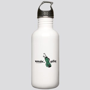 wannabe ... golfing Stainless Water Bottle 1.0L