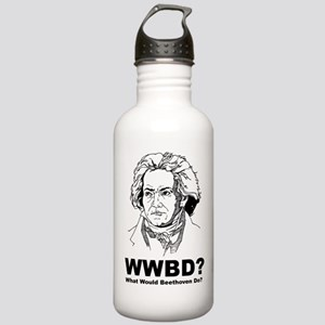 What Would Beethoven Do Stainless Water Bottle 1.0