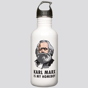 Karl Marx Is My Homeboy Stainless Water Bottle 1.0
