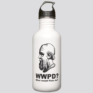 What Would Plato Do? Stainless Water Bottle 1.0L