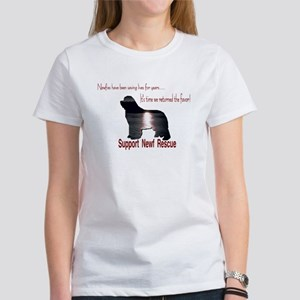 Support Newf Rescue Women's T-Shirt