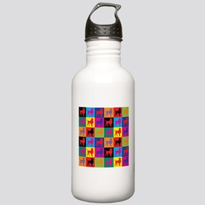 Pop Art Poodle Stainless Water Bottle 1.0L