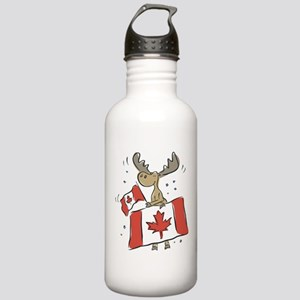 Canada Day Moose Stainless Water Bottle 1.0L