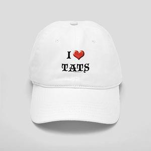 I Love Tats Cap