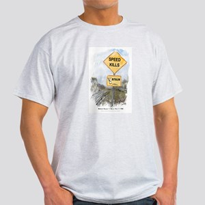 Speed Kills Ash Grey T-Shirt