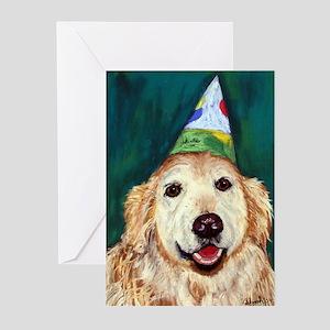 Habby Birthday Golden Greeting Cards (Pk of 10