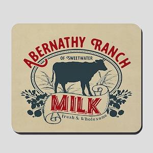 WW Abernathy Ranch Milk Mousepad