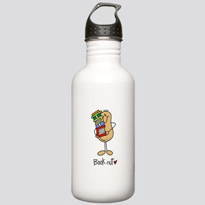 Book Nut Stainless Water Bottle 1.0L