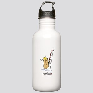 Fishing Nut Stainless Water Bottle 1.0L
