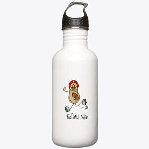 Football Nut Stainless Water Bottle 1.0L
