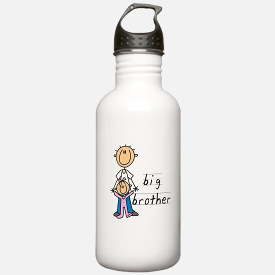 Big Brother With Little Sister Water Bottle