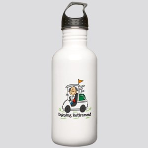 Retired and Golfing Stainless Water Bottle 1.0L