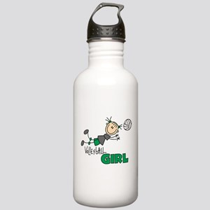 Volleyball Girl Stainless Water Bottle 1.0L
