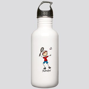 Badminton Stainless Water Bottle 1.0L