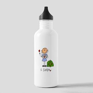 I Garden Stick Figure Stainless Water Bottle 1.0L