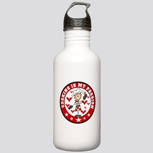 Female Cooking Passion Stainless Water Bottle 1.0L