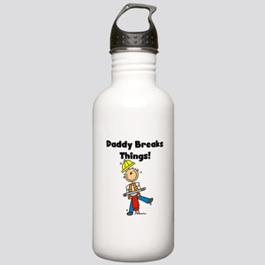 Daddy Breaks Things Stainless Water Bottle 1.0L
