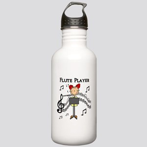 Flute Player Stainless Water Bottle 1.0L