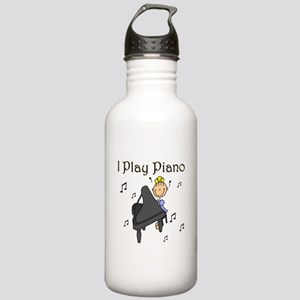 I Play Piano Stainless Water Bottle 1.0L