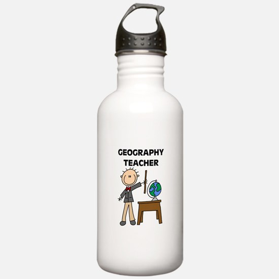 Geography Teacher Water Bottle