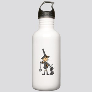 Witch and Cat Stainless Water Bottle 1.0L