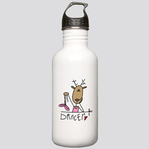Dancer Reindeer Stainless Water Bottle 1.0L