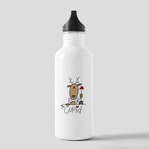 Cupid Reindeer Stainless Water Bottle 1.0L