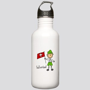 Switzerland Ethnic Stainless Water Bottle 1.0L