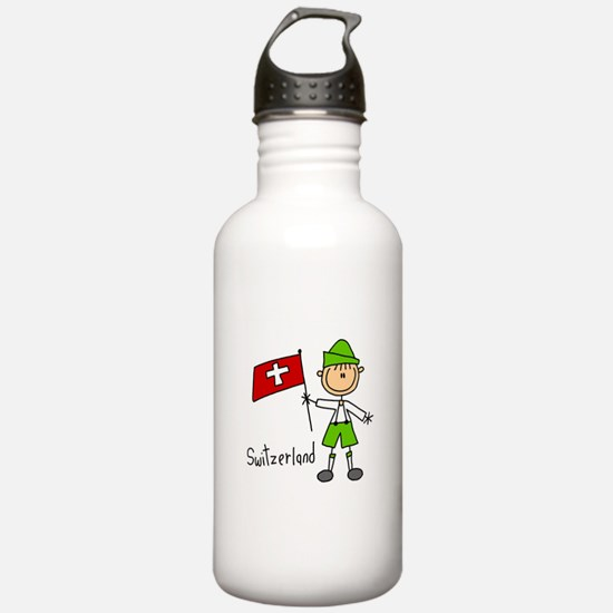 Switzerland Ethnic Water Bottle