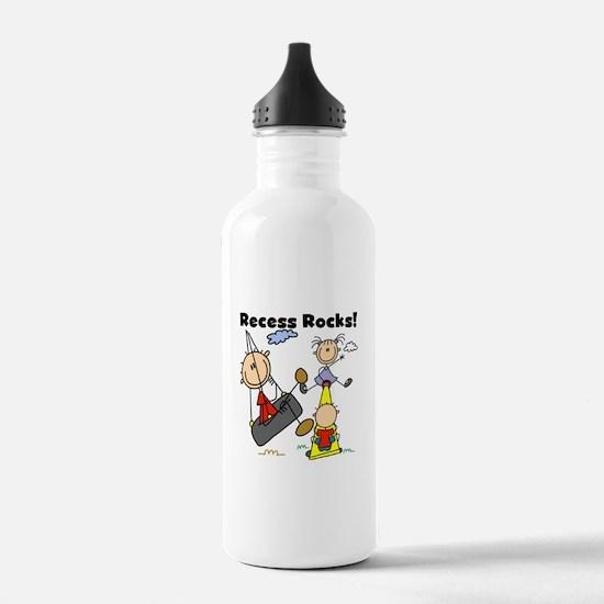 Recess Rocks Water Bottle
