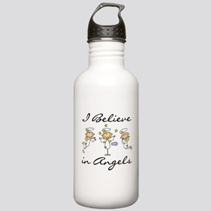 I Believe in Angels Stainless Water Bottle 1.0L