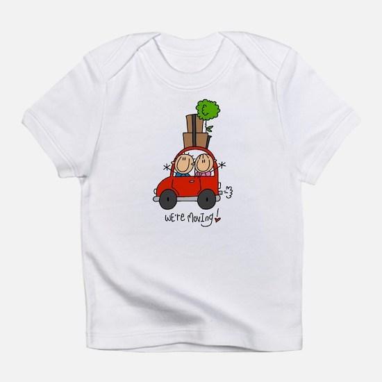 Car We're Moving Infant T-Shirt