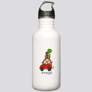 Car We're Moving Stainless Water Bottle 1.0L