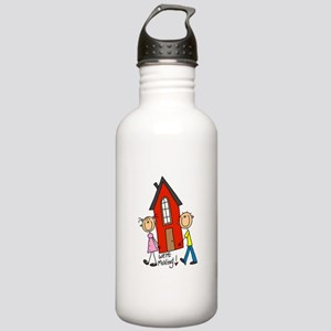 House We're Moving Stainless Water Bottle 1.0L