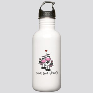 Cownt Your Blessings Stainless Water Bottle 1.0L