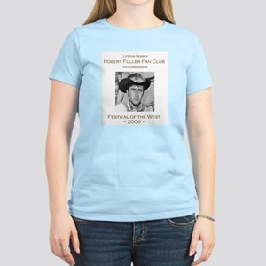 Robert Fuller Fan Club Women's Pink T-Shirt
