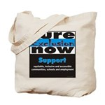 Cure Exclusion Tote Bag