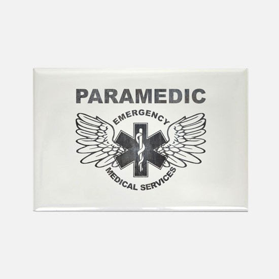 Paramedic EMS SOL wings Rectangle Magnet