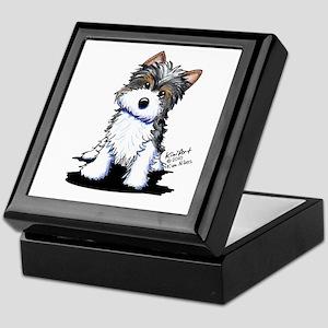 Biewer Yorkie Puppy Keepsake Box