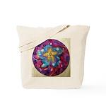 2 Silk Painted Mandalas - Tote Bag