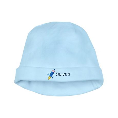 Oliver Rocket Ship baby hat