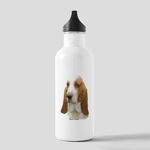 Basset Hound 8K92D-07 Stainless Water Bottle 1.0L
