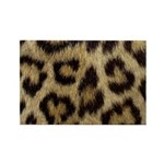 Leopard Print Rectangle Magnet