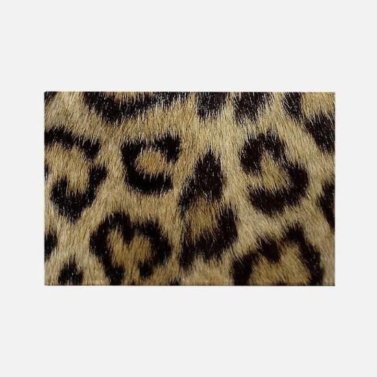 Leopard Print Rectangle Magnet