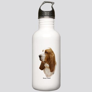 Basset Hound 9J055D-15 Stainless Water Bottle 1.0L