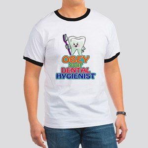 Obey Your Dental Hygienist Ringer T