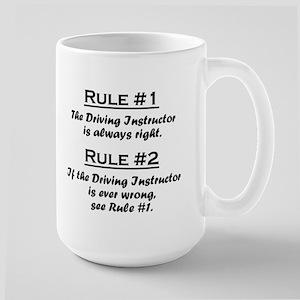 Driving Instructor Large Mug